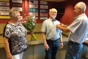 Koos van Lier 50 jaar lid NBB